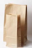 Пакет бумажный 14/6x23 см коричневый