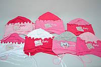 Шапочка для девочек 335 1-3 years разные цвета