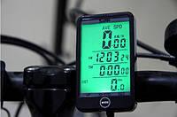 Беспроводной велокомпьютер  SunDing SD-576С (чёрный)