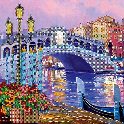 """Схема для вышивания бисером """"Огни Венеции"""", фото 2"""
