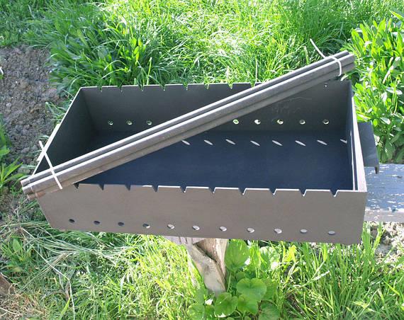 Мангалы и шампура для дома 600х350х135 мм из стали 4мм