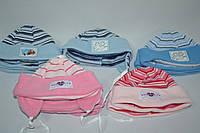 Шапочка для девочек 338 3-6  Mounth разные цвета