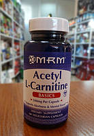 Л-карнитин MRM Acetyl L-Carnitine 500 mg 60 caps