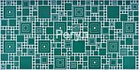 """Листовая панель ПВХ Регул мозаика """"Палитра изумруд"""" 0,3 мм"""