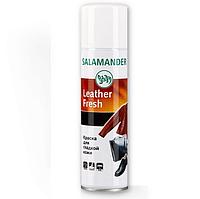 Краска для гладкой кожи Salamander Leather Fresh 250ml (009 черный)
