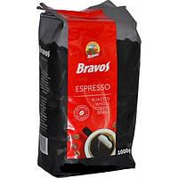Кофе в зернах Bravos Espresso, 1кг.