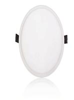Светодиодный  LEDEX круг 8Вт 4000К нейтральный матовое стекло напряжение AC100-265В алюминий тонкий