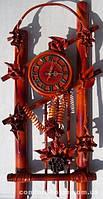 Часы из натуральной кожи и бамбука-Арка GP - ЧК09