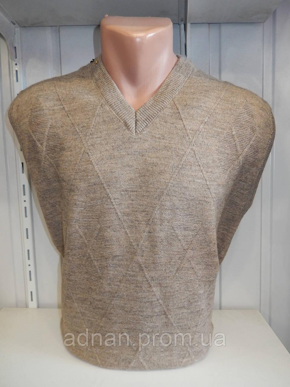Жилетка мужская COLORBAR, узор на фото 001/ купиь свитер мужской оптом
