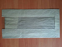 Бумажный пакет с прозрачной вставкой 11.67