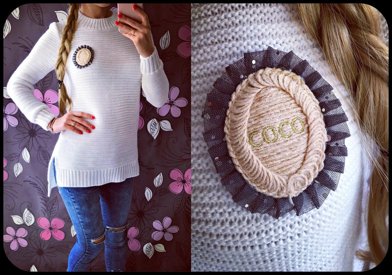 Модный женский свитер Коко 2