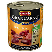 Animonda GranCarno Original Adult 24x800 g Говядина с индейкой