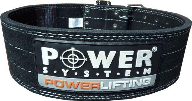 Атлетические пояса Power System Пояс Powerlifting PS 3800 XL Black