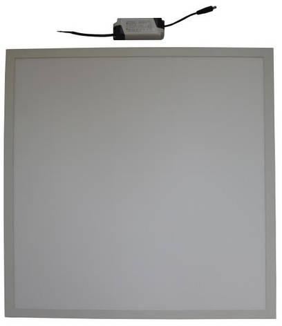 Панель светодиодная встраиваемая СВО 40W 60x60 6500К, фото 2