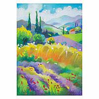 Набор для рисования масляной пастелью Цветение лаванды (RS-N000086) 25 х 35 см