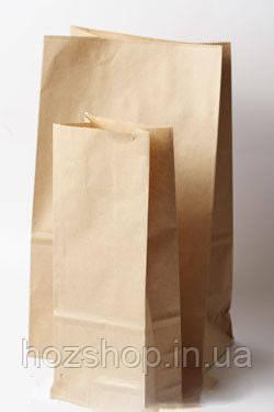 Пакет бумажный 25/8x42 см коричневый