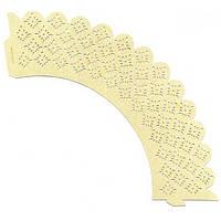 Накладка декоративная ажурная  для маффинов (20 шт) Empire EM-0381