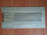 Бумажный пакет с прозрачной вставкой 11.111