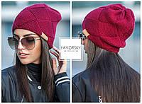 """Женская шапка ажурной вязки """"Alison"""""""