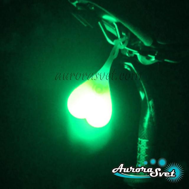 светящиеся яйца на велосипед