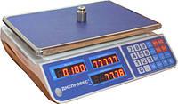 Весы торговые Днепровес F902H-30EL1