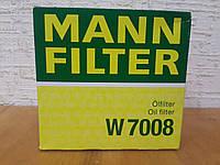 Фильтр масляный Ford Focus II 1.4/1.6 2004-->2011 Mann (Германия) W 7008