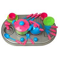 Плита с мойкой и посудой 04-410 Киндервей