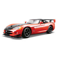 Автомодель - DODGE VIPER SRT10 ACR (ассорти оранж-черн металлик, красн-черн металлик, 1:24)