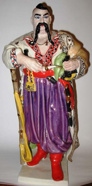 Скульптура Козак  Тарас Бульба Украина  сер ХХ века