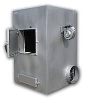 Теплогенератор твердотопливный воздушного отопления