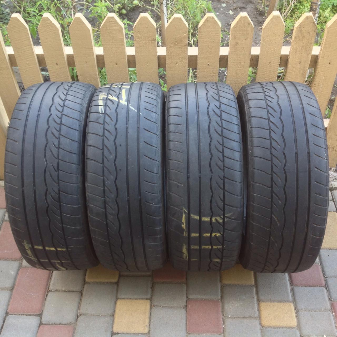 Летняя резина Dunlop SP Sport 01 205/55 R16, Б/У,  2008 года выпуска, 4 шт. - Интернет-магазин «Happy Smile» в Одессе
