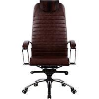 Кресло руководителя кожаное Samurai K1 BROWN , фото 1