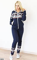 Женский спортивный костюм на меху КТ-631