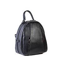 Сумка-рюкзак женская кожаная Virginia Conti 4506 черн., фото 1