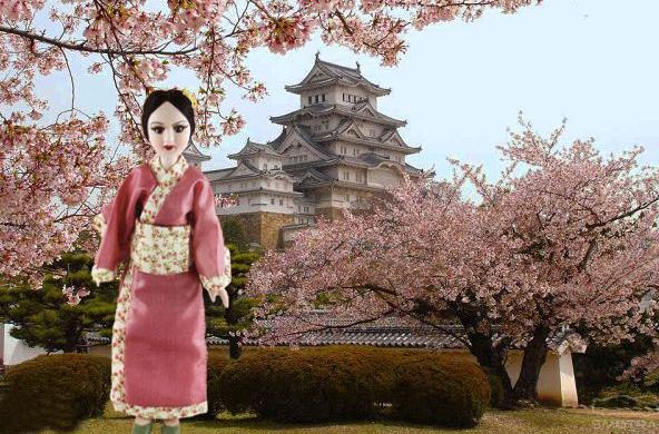 Куклы в Костюмах Народов Мира №3 - Япония (Йоко)