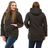 женская куртка большого размера на осень