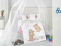 Постельное белье в детскую кроватку Хлопок (TM Clasy) masal-v1, Турция
