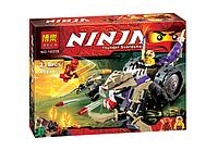 Конструктор Ninja Bela 10318. Лего Ниндзя 218 деталей 10318. Разрушитель Клана Анакондрай, 218 деталей