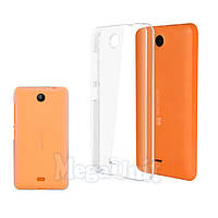 Прозрачный силиконовый чехол для Microsoft (Nokia) Lumia 430