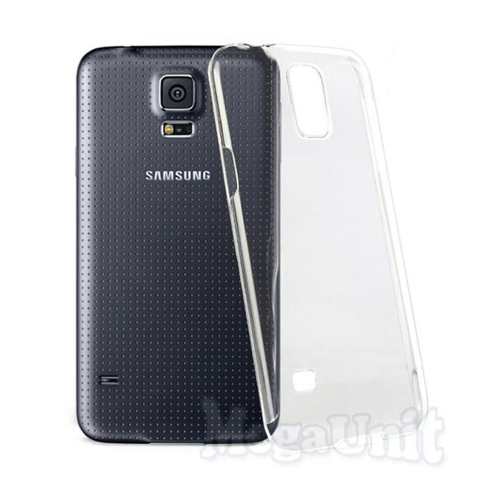 Прозрачный силиконовый чехол для Samsung Galaxy S5 (g900)