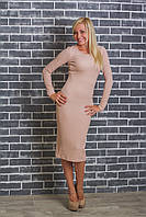 Платье женское приталеное