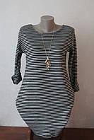 Туника-платье  с кулоном