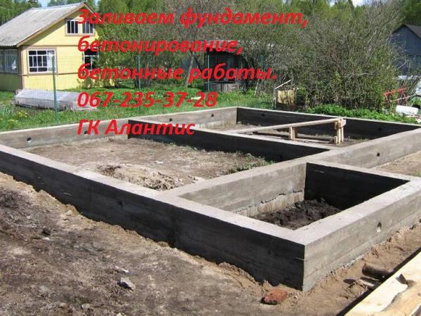 Залив бетона цена гавр бетон