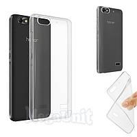 Прозрачный силиконовый чехол для Huawei Honor 4C, фото 1