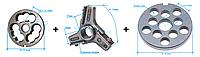 Комплект полунгер H82 с решеткой 12 мм + нож со сменными лезвиями