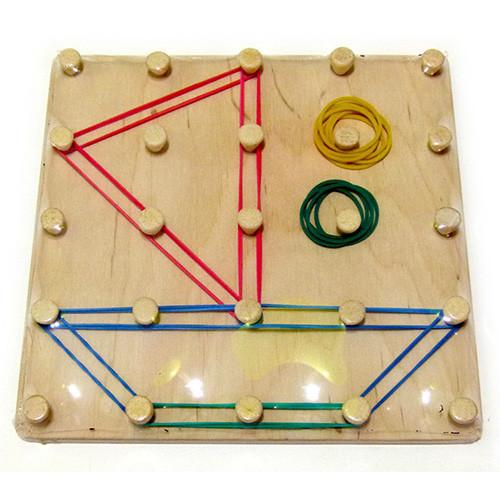 Математический планшет «Геометрические резиночки»