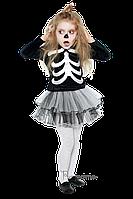 Дитячий карнавальний костюм СКЕЛЕТ-ДІВЧИНКА код 2051