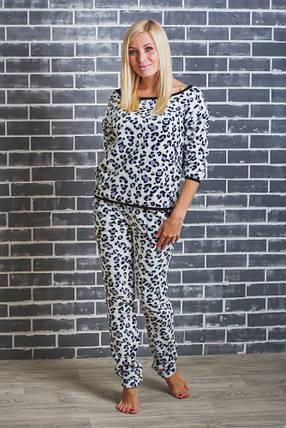 Махровая пижама женская леопард  продажа 2167e0a7e5009