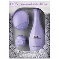 Eos подарочный набор: бальзам для губ, лосьон для тела,крем для рук! Фиолетовый