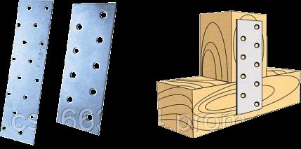 Крепление плоское LP-44 40x800x0x2,0